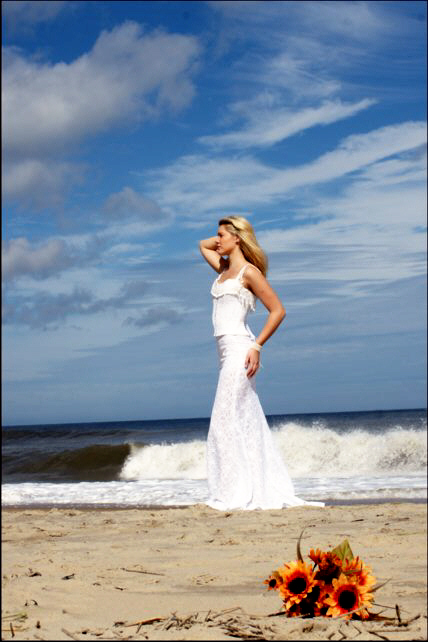 Destination Wedding Image At Virginia Beach Taken By Photographer Diamond Photography Inc